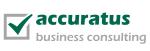 Logo: accuratus business consulting GmbH
