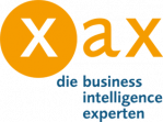 Logo: xax managing data & information gmbh